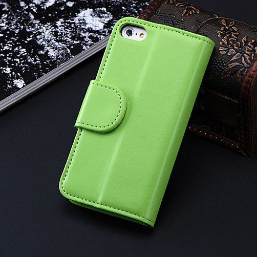 Luxury PU Leather Case For Apple iPhone 6 6S Plus 5 5S SE 5C 4S Card Slots + Photo Frame Full Protective Cover Bag For iPhone 6 - Best price in 10minus