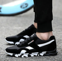 Hot 2017 Fashion Men Casual Shoes Spring Autumn Mens Trainers Breathable Flats Walking Shoes zapatillas hombre Free Shipping - 10MINUS: Online Shopping Destination with High-Quality