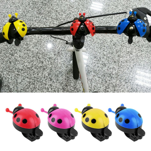 Hot ! Lovely Kid Beetle Ladybug Ring bicycle Bell For Cycling Bicycle Bike Ride Horn Alarm bike trumpet horn WHolesale - Best price in 10minus