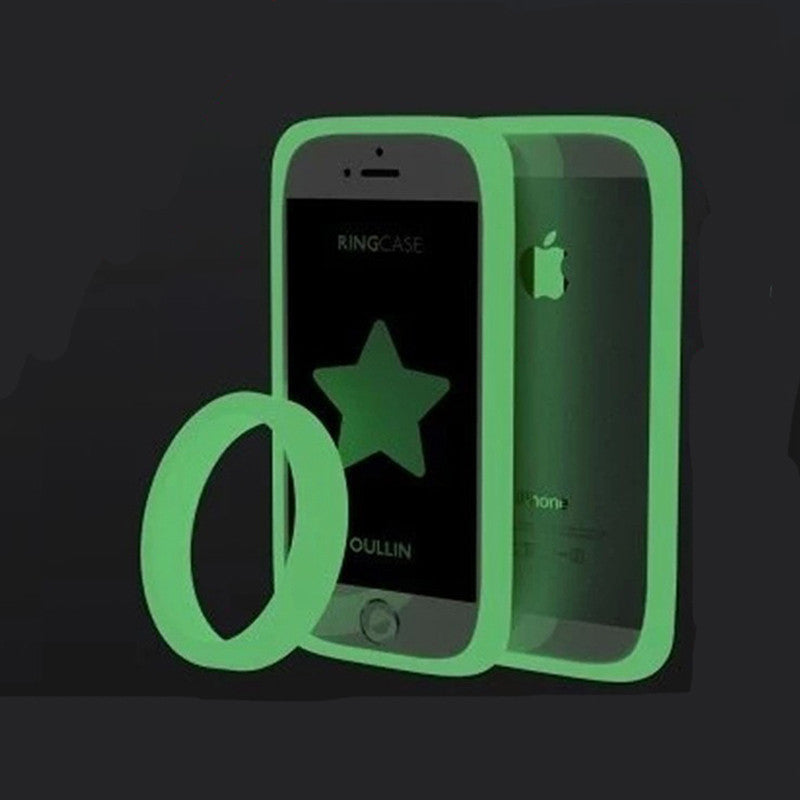 Hot! Luminous Bracelet phone Bumper case Universal phone border protection Soft Silicon Ring Frame for Andrews and Apple phone - 10MINUS: Online Shopping Destination with High-Quality