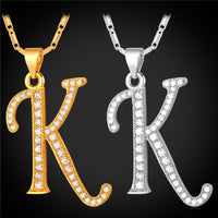 10 MINUS Initial K Letter Pendants & Necklaces WomenMen Personalized Gift  Alphabet Jewelry Gold Plated Necklace P1681 Initial K Letter Pendants & Necklaces WomenMen Personalized Gift  Alphabet Jewelry Gold Plated Necklace P1681 Initial K Letter Pendants & Necklaces WomenMen Personalized Gift  Alphabet Jewelry Gold Plated Necklace P1681