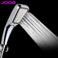 JOOE Shower Head Water Saving high Pressurized ABS With Chrome Handheld Shower 300 hole Bathroom Water Booster Showerhead - 10MINUS: Online Shopping Destination with High-Quality