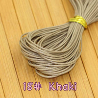 10 meters/piece 1MM diameter Waxed Thread Polyester Cord String Strap Wholesale Necklace Rope Bead Fit shamballa Bracelet - 10MINUS: Online Shopping Destination with High-Quality
