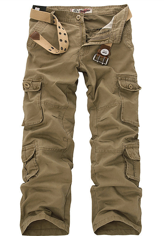 Fashion Military Cargo Pants Men Loose Baggy Tactical Trousers Oustdoor Casual Cotton Cargo Pants Men Multi Pockets Big size - 10MINUS: Online Shopping Destination with High-Quality