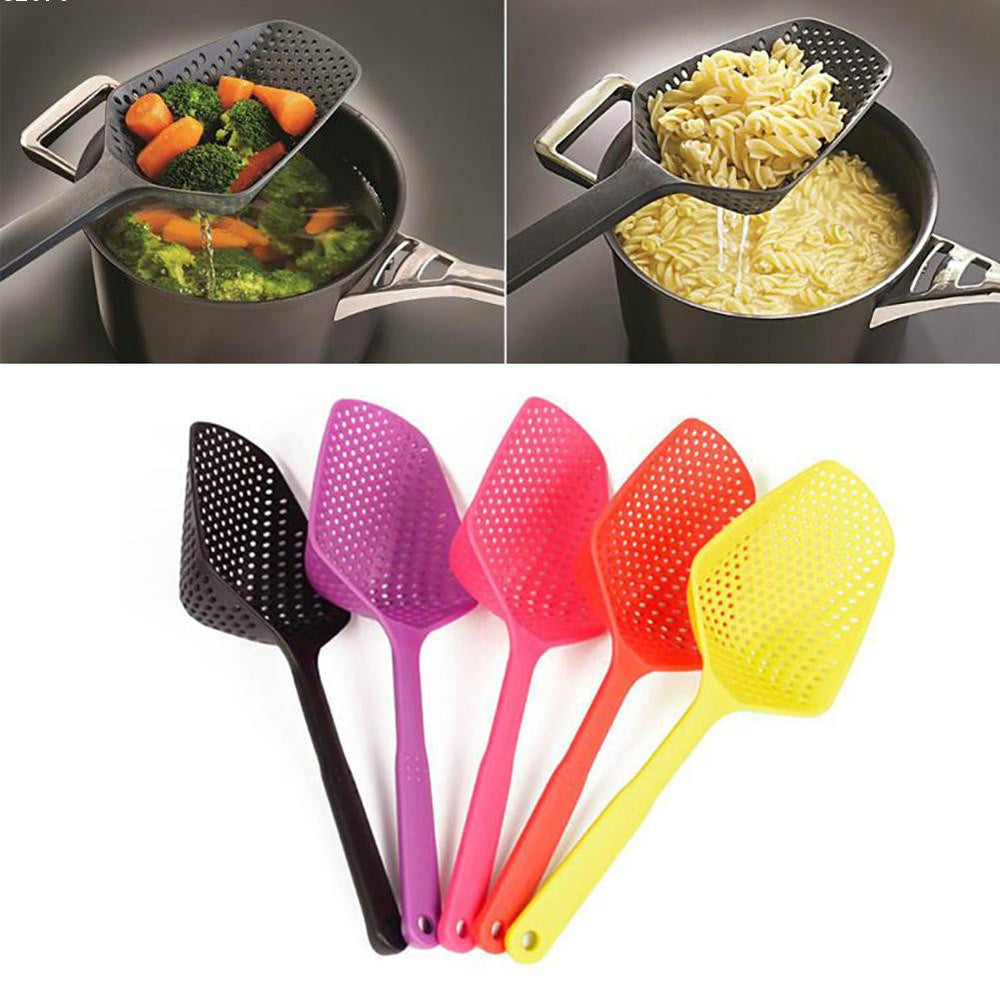 Large Nylon Strainer Scoop Basket Colander kitchen Accessories gadgets Drain Vegies water Scoop cozinha gadget cooking tools - 10MINUS: Online Shopping Destination with High-Quality