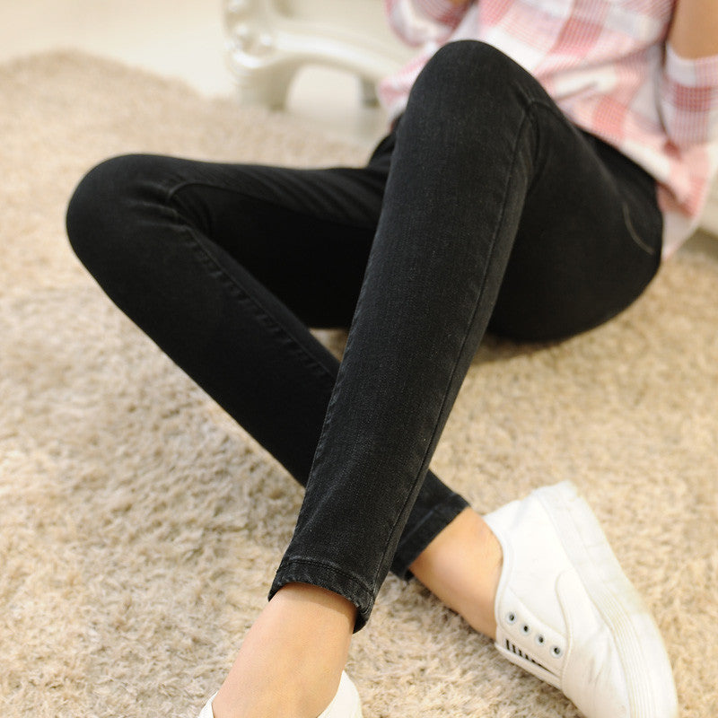 2016 New Arrival Wholesale Woman Denim Pencil Pants Top Brand Stretch Jeans Mid  Waist Pants Women Mid  Waist Jeans - 10MINUS: Online Shopping Destination with High-Quality