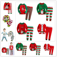 lovely spring new year cotton long sleeves baby kids children suits boys pajamas  christmas girls clothing sets clothes - 10MINUS: Online Shopping Destination with High-Quality