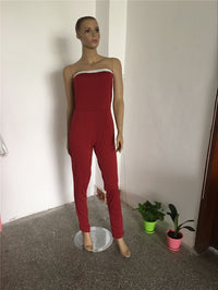 2016 New Fashion Women Jumpsuit Summer Style Sleeveless Casual Long Pants Sexy suit rompers Nightclubs Party Slim Hot Sell - 10MINUS: Online Shopping Destination with High-Quality