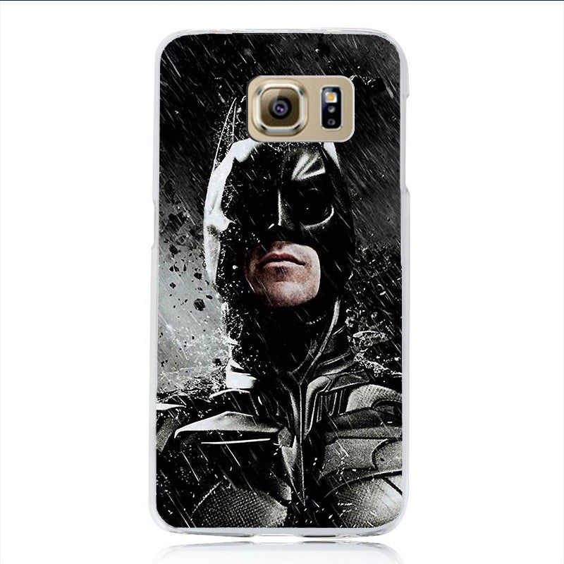 Marvel Avengers Superhero Phone Case Coque For Samsung Galaxy S6 S7 S7 Edge Hard Back Phone Cover Deadpool Ironman Batman Sleeve - Best price in 10minus