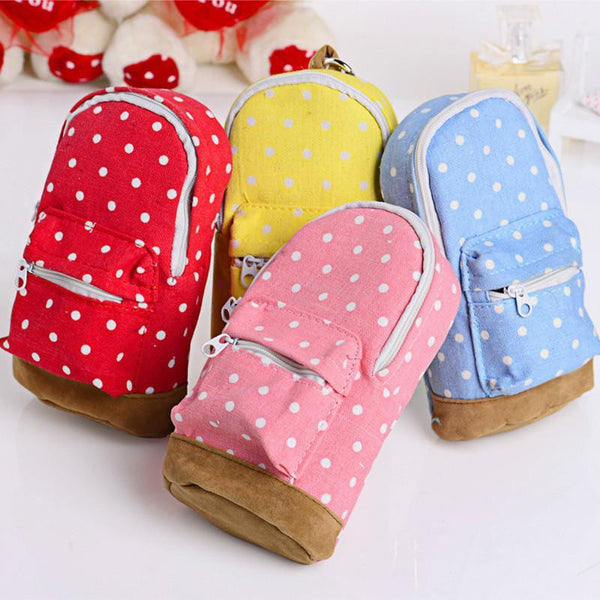 Mini School Bag Students Pen Case Canvas Pencil Case Children Stationery Bags Free Shipping - Best price in 10minus