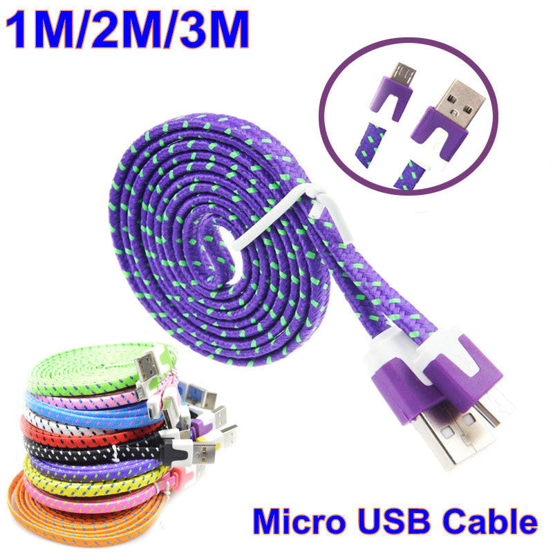 Mobile Phone Cable Accessory 1m 2m 3m Mini Micro Usb Cabel Android Charger Charging V8 For Lenovo K3 Note/Huawei P9 Lite xedain - Best price in 10minus