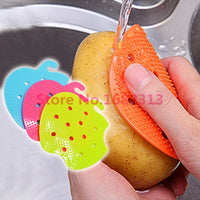 Multi-function Vegetable & Fruit Brush Potato Easy Cleaning Tools Kitchen Home Gadgets 2015 hot free shipping - 10MINUS: Online Shopping Destination with High-Quality