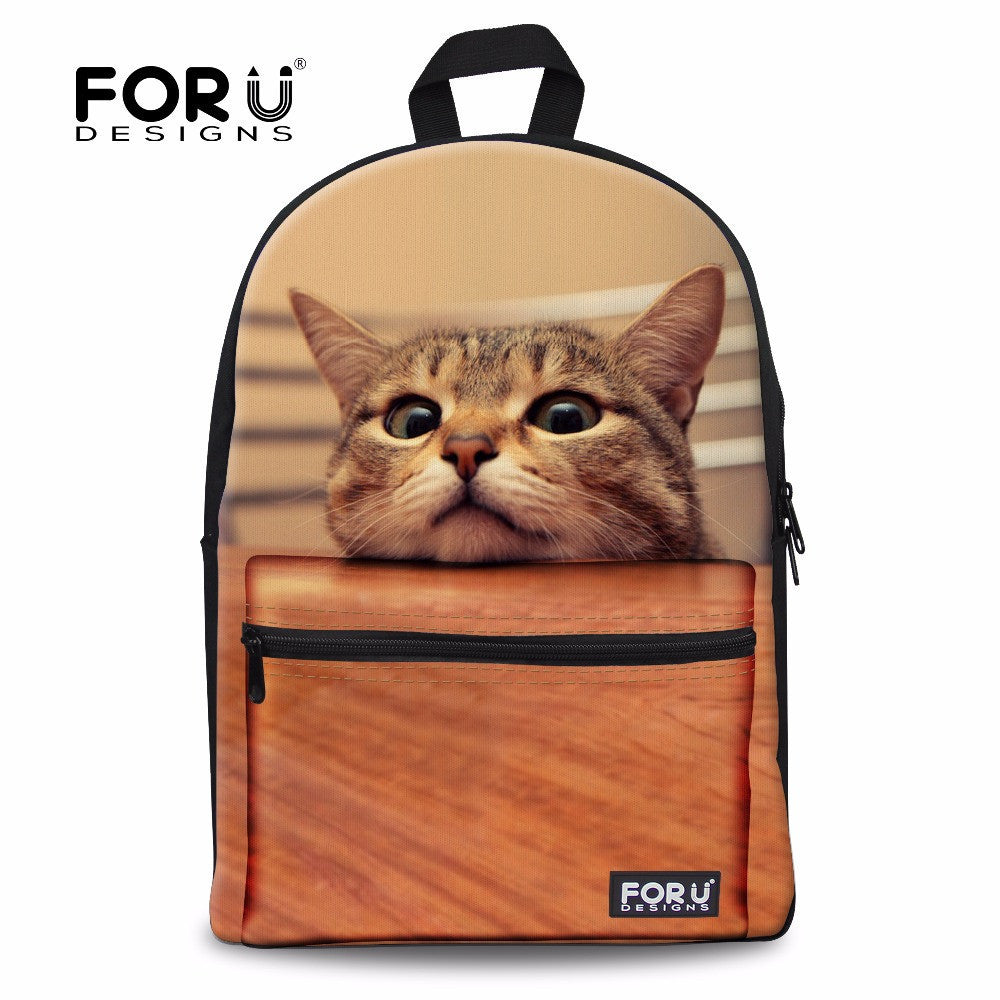 10 minus New 3D women backpack school girls cute cat print shoulder backpacks for college students campus back pack animal cat face New 3D women backpack school girls cute cat print shoulder backpacks for college students campus back pack animal cat face New 3D women backpack school girls cute cat print shoulder backpacks for college students campus back pack animal cat face