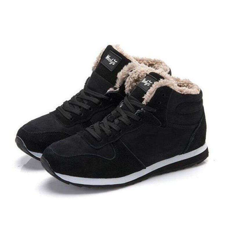 New Arrival Fashion Men Winter Boots Keep Warm Plush Ankle Boot Snow Work shoes Outdoor Men Casual Shoes Man Zapatillas size 46 - 10MINUS: Online Shopping Destination with High-Quality