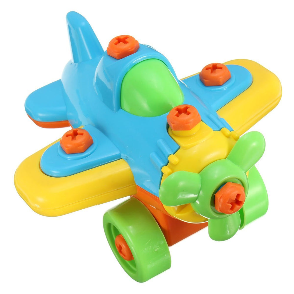 New DIY Disassembling Small Plane Building Blocks Children Assembled Model Tool clamp With Screwdriver Educational Toys - 10MINUS: Online Shopping Destination with High-Quality