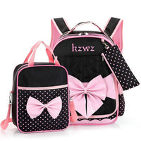 New Fashion Children School Bags for Girls Backpack Female Kid Bag Child Printing Backpacks for Teenage Girls Bow Suit X013 - Best price in 10minus
