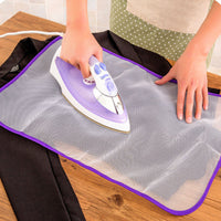 NEW Protective Press Mesh Ironing Cloth Guard Protect Delicate Garment Clothes - Best price in 10minus