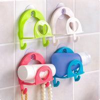 New Suction Cup Sink Shelf Soap Sponge Drain Rack Multi-Purpose Bathroom Kitchen Sucker Storage Bathroom Products 9x8.3cm 1 PC - Best price in 10minus