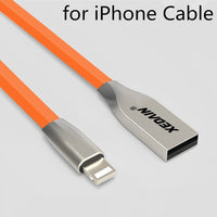 10 MINUS Orange for iphone / 1M 2016 Newest Colorful Zinc Alloy Micro USB Data Sync Charging Cable for iPhone 6S 6 Plus 7 iPhone 5 S iPad/Samsung/Sony/HTC xedan 2016 Newest Colorful Zinc Alloy Micro USB Data Sync Charging Cable for iPhone 6S 6 Plus 7 iPhone 5 S iPad/Samsung/Sony/HTC xedan 2016 Newest Colorful Zinc Alloy Micro USB Data Sync Charging Cable for iPhone 6S 6 Plus 7 iPhone 5 S iPad/Samsung/Sony/HTC xedan Orange for iphone / 1M