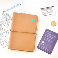 New Travel Leather Passport Holder Card Case Protector Cover Wallet Bag #LSN - Best price in 10minus