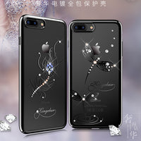 10 MINUS Original Kingxbar High Quality Electroplated PC With Crystals from Swarovski Rhinestone Case Cover For Apple iPhone 7 / 7 Plus Original Kingxbar High Quality Electroplated PC With Crystals from Swarovski Rhinestone Case Cover For Apple iPhone 7 / 7 Plus Original Kingxbar High Quality Electroplated PC With Crystals from Swarovski Rhinestone Case Cover For Apple iPhone 7 / 7 Plus