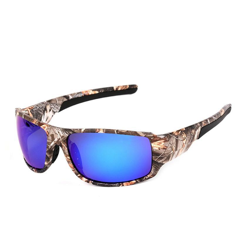 Top Sports Driving Fishing Sunglasses Camouflage Frame Polarized Sunglasses Men/Women Brand Designer - 10MINUS: Online Shopping Destination with High-Quality