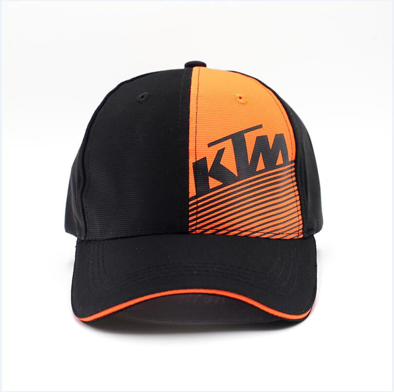 Latest Motor GP KTM Racing Baseball Cap Motocross Riding Caps Women Men Casual Adjustable Snapback Sun Cap Motorcycle Sport Hat - 10MINUS: Online Shopping Destination with High-Quality