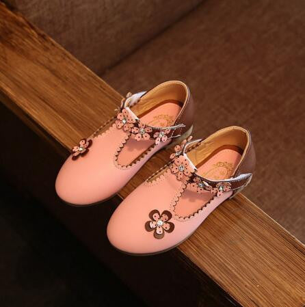 2017 Spring Autumn Girls Flower Shoes High Quality Sandals Children's Kids Princess Casual Shoes with Flowers for Girls 0-7Y - 10MINUS: Online Shopping Destination with High-Quality