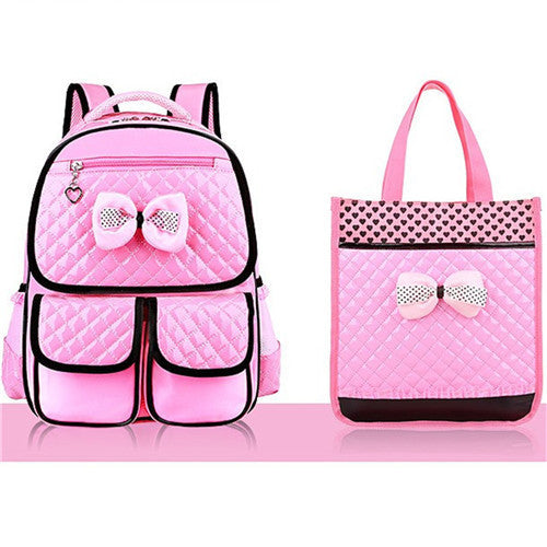 New Fashion Children School Bags Girls High Quality PU Children Backpack School Backpacks Child Book Bag 2017 Free Shipping Z332 - 10MINUS: Online Shopping Destination with High-Quality