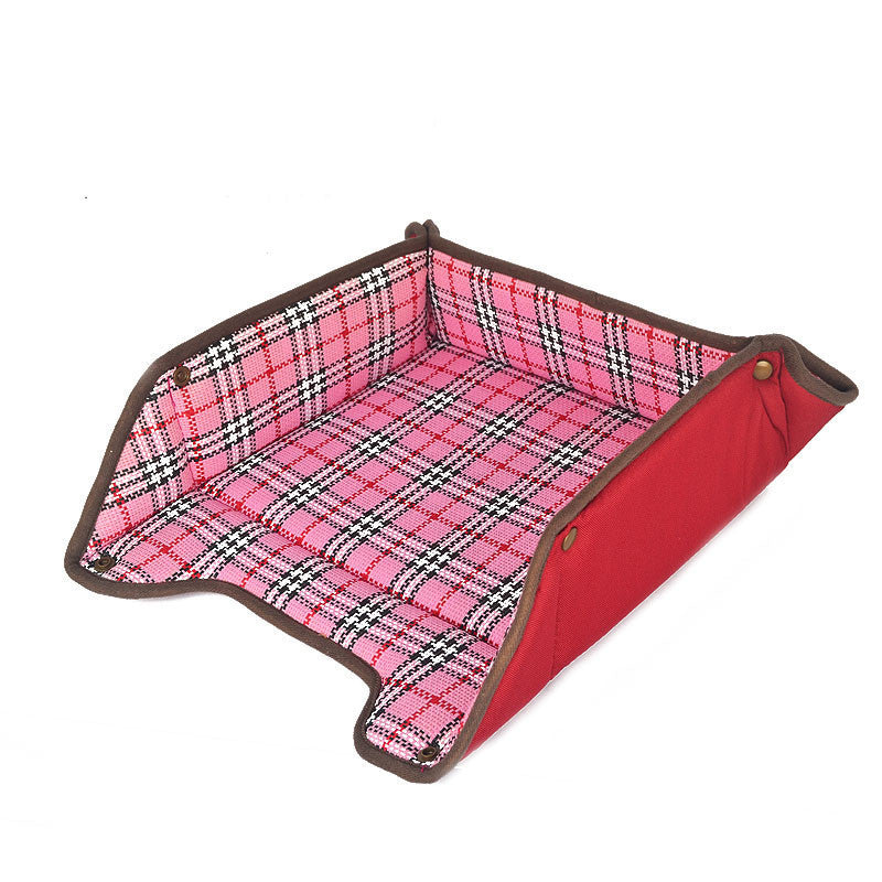 2017 New High Quality Multifunctional Dog Mat 3 Size Pet Bed Collapsible Dog House Waterproof Oxford Dog Sofa Washable Cat Mat - 10MINUS: Online Shopping Destination with High-Quality