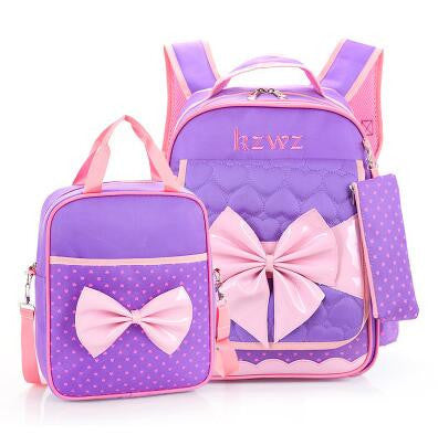 P.P.X High Quality Lovely Princess Kid's School Bag Primary School Girls Alleviate Burden Shoulder Bag Waterproof Backpack Z051 - 10MINUS: Online Shopping Destination with High-Quality