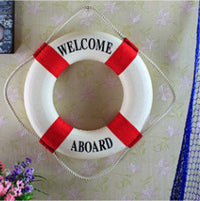 Mediterranean style Home Decoration pendant lifebuoy Creative home wall act the role ofing Bar metope adornment photograph props - 10MINUS: Online Shopping Destination with High-Quality