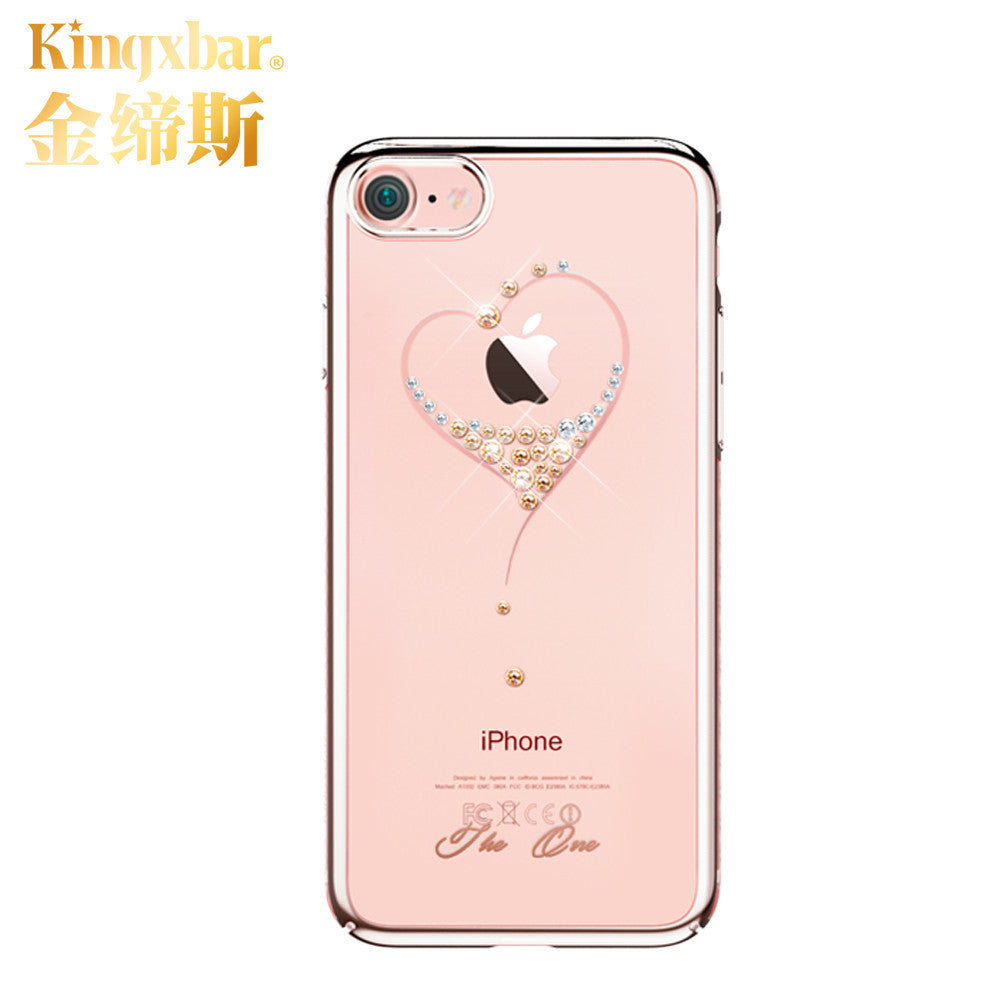 10 MINUS rose gold 6 / For iPhone 7 Original Kingxbar High Quality Electroplated PC With Crystals from Swarovski Rhinestone Case Cover For Apple iPhone 7 / 7 Plus Original Kingxbar High Quality Electroplated PC With Crystals from Swarovski Rhinestone Case Cover For Apple iPhone 7 / 7 Plus Original Kingxbar High Quality Electroplated PC With Crystals from Swarovski Rhinestone Case Cover For Apple iPhone 7 / 7 Plus rose gold 6 / For iPhone 7