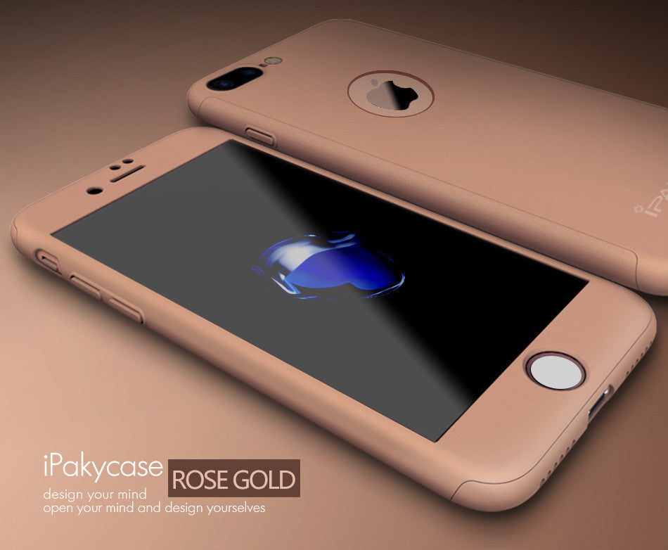 10 MINUS Rose Gold / For iphone 7 IPaky Hard Matte Cases For iPhone 7 Case iPhone 7 plus Case Plus 360 Degree Full Cover Plastic Tempered Glass Phone Cases IPaky Hard Matte Cases For iPhone 7 Case iPhone 7 plus Case Plus 360 Degree Full Cover Plastic Tempered Glass Phone Cases IPaky Hard Matte Cases For iPhone 7 Case iPhone 7 plus Case Plus 360 Degree Full Cover Plastic Tempered Glass Phone Cases Rose Gold / For iphone 7