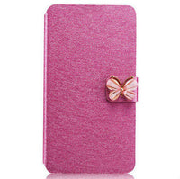 Flip Cloth Skin Leather Case For Huawei Ascend P8 Lite Fashion Hit Color Full Protective Accessories Cover For Huawei P8 Lite - Best price in 10minus