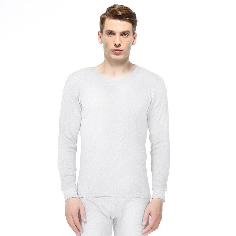 2016 High Quality Men'S Thermal Underwear Solid Color Cotton Round Neck Long Underwear Autumn Clothes Suit    A117 - 10MINUS: Online Shopping Destination with High-Quality