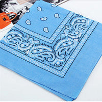 1 pc Newest Cotton Blend Hip-hop Bandanas For Male Female  Head Scarf Scarves Wristband hot selling - 10MINUS: Online Shopping Destination with High-Quality
