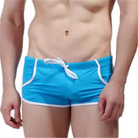 2016 Men Board Shorts Swimsuit Trunks Underwear Briefs Deportes Big Size Trunk Sexy Slim Boxer Male Swimwear Shorts Esporte X002 - 10MINUS: Online Shopping Destination with High-Quality