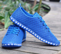 Spring And Autumn New Light Men Shoes Men Flats Network Gauze Breathable Casual Shoes Flats Men Fashion Summer Style Plus Size - Best price in 10minus