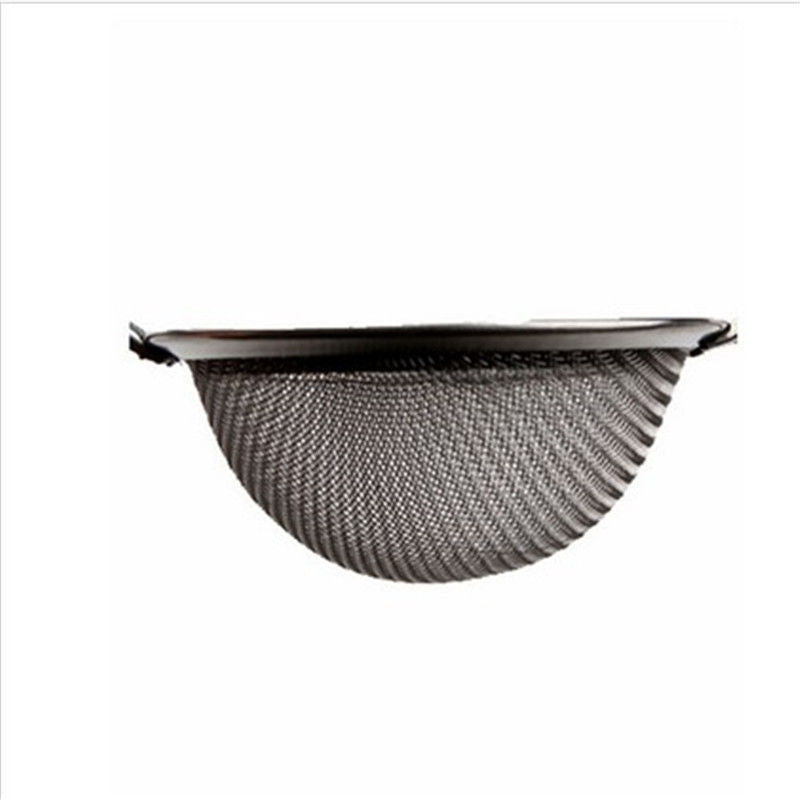 Stainless Steel Kitchen Pastry Tools Stainless Steel Baking Tools Mesh Wire Flour Handheld Screen Mesh Strainer Flour Sieve - Best price in 10minus