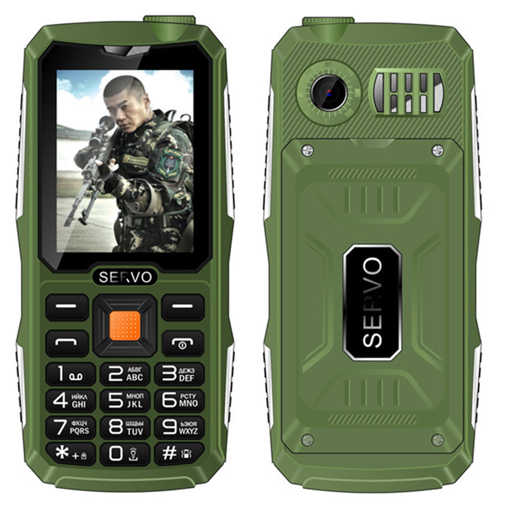 Quad Sim Original SERVO V3 mobile phone Dustproof Shockproof 2.4'' Phone 4 SIM cards 4 standby GPRS Russian Language keyboard - 10MINUS: Online Shopping Destination with High-Quality
