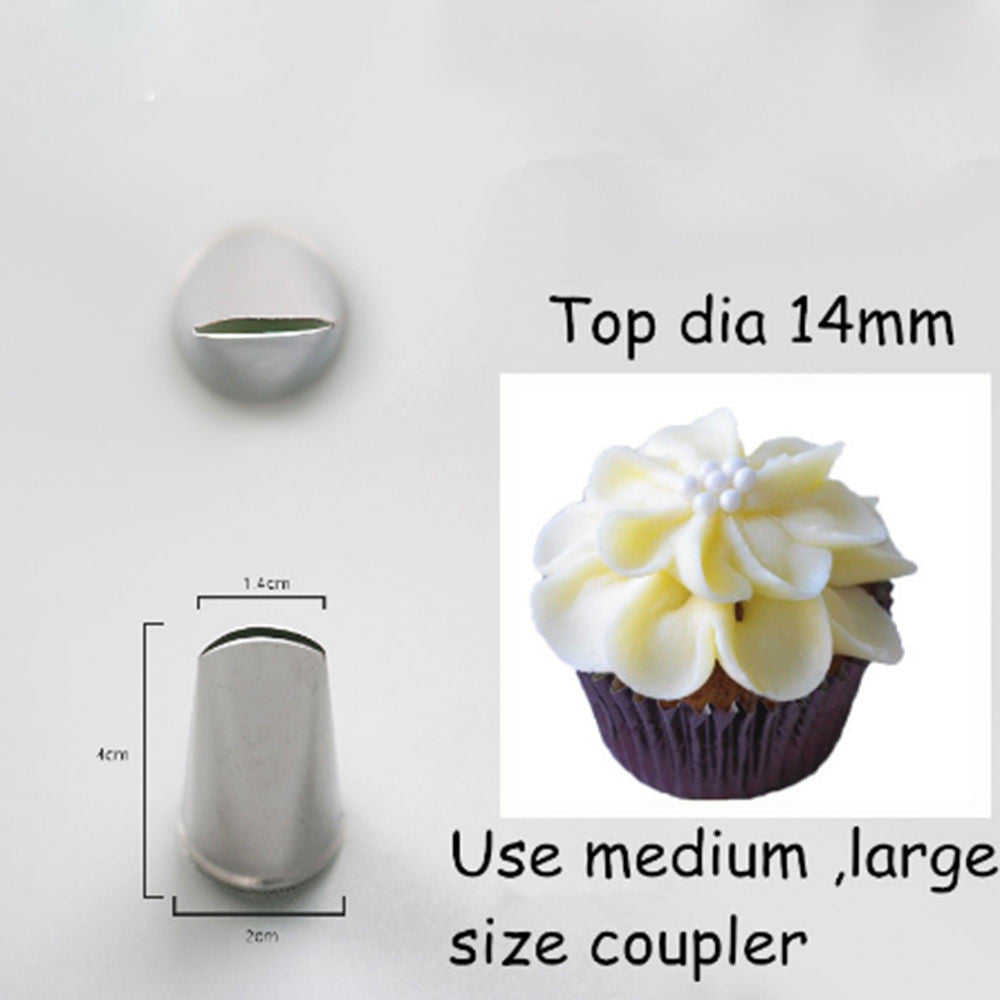 10 minus Style C Russian Tulip Nozzle Cupcake Decorating Icing Piping Nozzles Rose Pastry Tips Russian Tulip Nozzle Cupcake Decorating Icing Piping Nozzles Rose Pastry Tips Russian Tulip Nozzle Cupcake Decorating Icing Piping Nozzles Rose Pastry Tips Style C