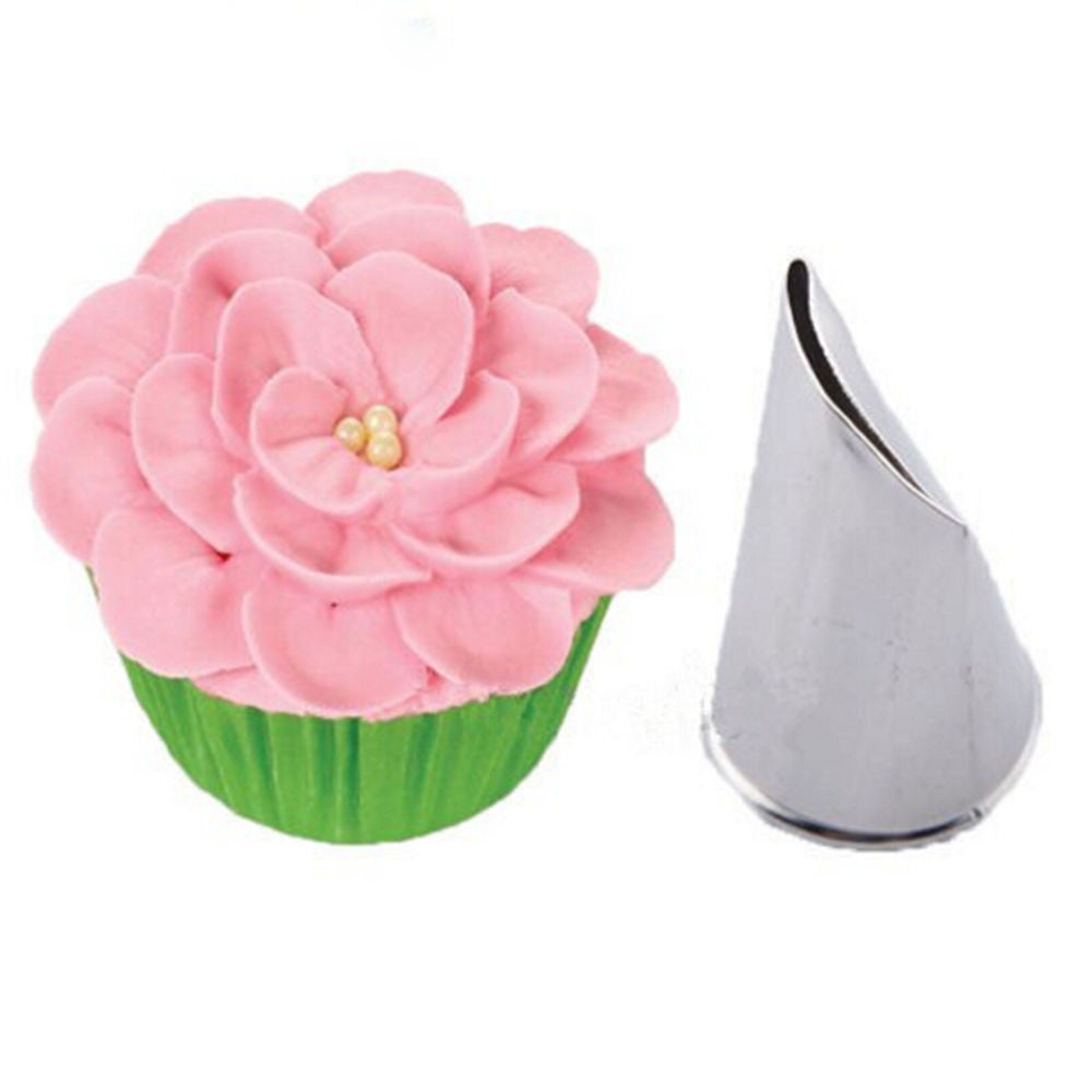 Russian Tulip Nozzle Cupcake Decorating Icing Piping Nozzles Rose Pastry Tips - 10MINUS: Online Shopping Destination with High-Quality