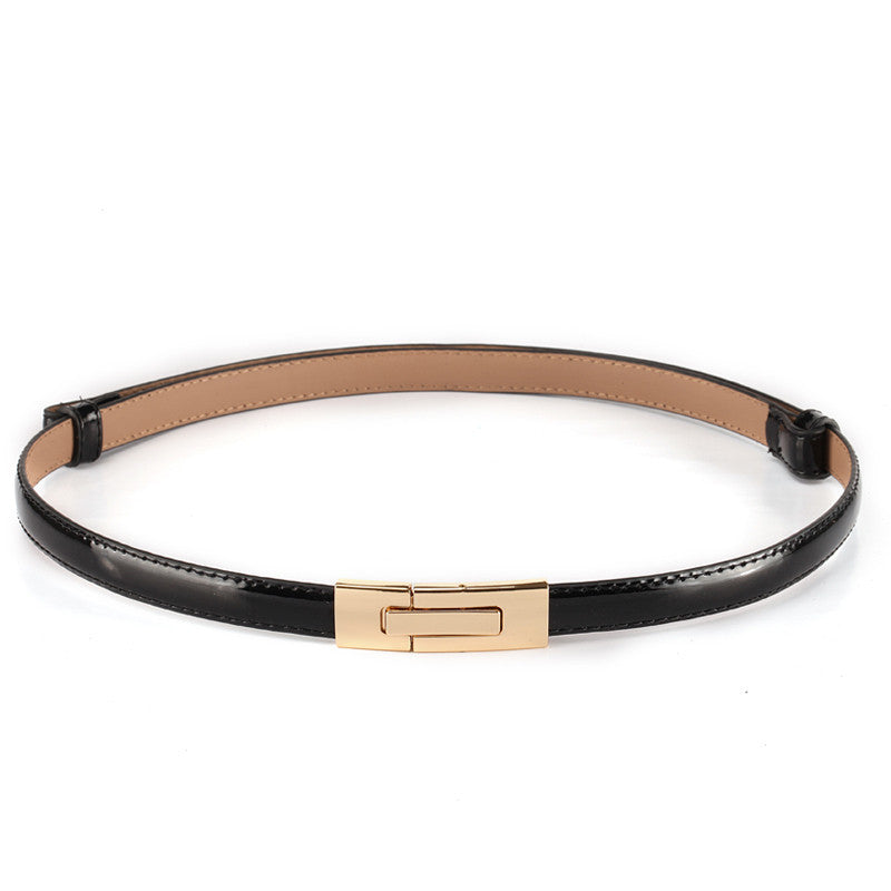2015 Fashion brand 100% genuine leather women belt metal Pin buckle Vintage belts for women Color Black White red sapphire - 10MINUS: Online Shopping Destination with High-Quality