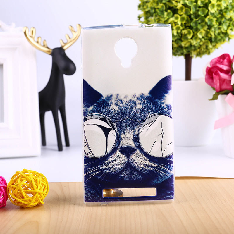 DIY Painted Soft TPU Phone Cover For THL T6 T6S T6C T6 PRO Cases Top Quality Elegant Mobile Phone Accessories - 10MINUS: Online Shopping Destination with High-Quality