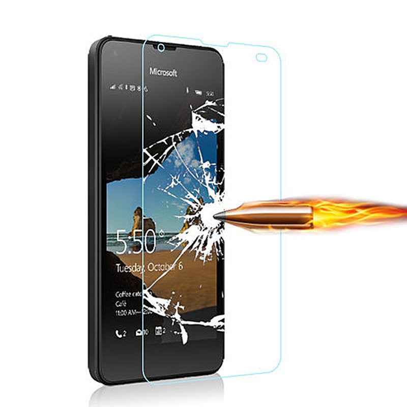 Tempered Glass For Microsoft Lumia 550 640 650 950 XL Screen Protector Phone Accessory Cover Case Film For Nokia Lumia 550 Glass - Best price in 10minus