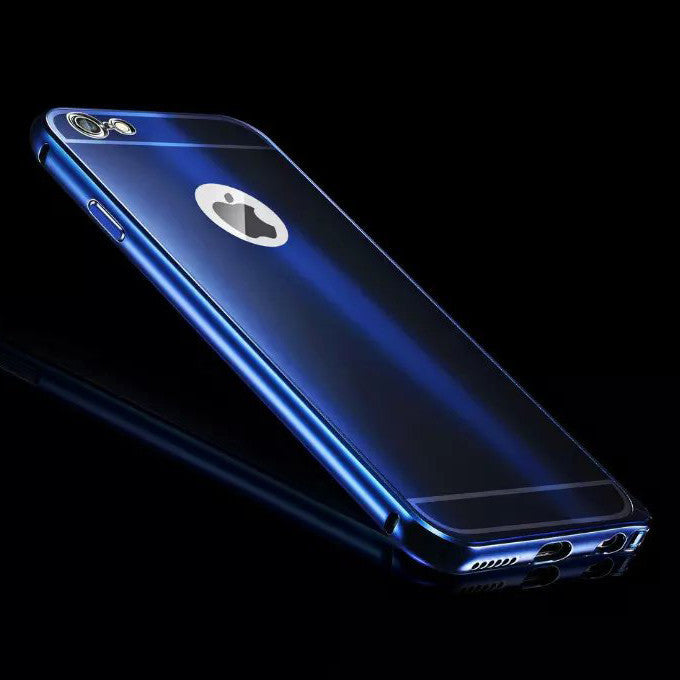 Top Quality Original Brand Luxury Mobile Phone Case Accessories For Apple iPhone 7 6 6S Plus Metal Aluminum Hard Case Back Cover - Best price in 10minus
