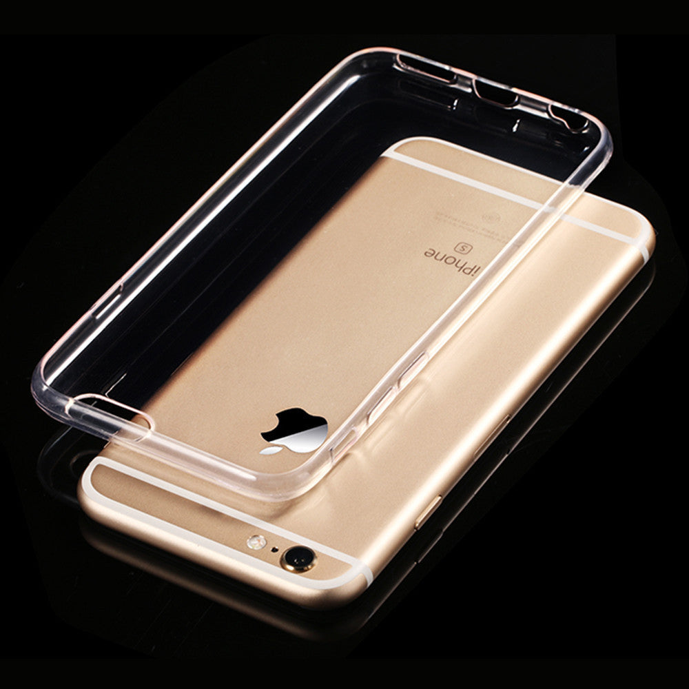 Transparent Clear Soft Silica Gel TPU Case Silicone Cover for iPhone 6 iPhone6 Plus iPhone 7 Ultra Thin Mobile Phone Case - 10MINUS: Online Shopping Destination with High-Quality