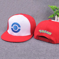 2016 Hot Fashion lovely Unisex Women Men Pokemon Go Pocket Monster Pikachu Hot Hip-hop Flat Soft  Cotton Hat Baseball Cap Hot - 10MINUS: Online Shopping Destination with High-Quality