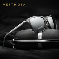 VEITHDIA Brand Unisex Retro Aluminum+TR90 Sunglasses Polarized Lens Vintage Eyewear Accessories Sun Glasses For Men/Women 6108 - 10MINUS: Online Shopping Destination with High-Quality